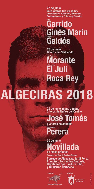 algeciras 2018 cartel jose tomas 29 junio